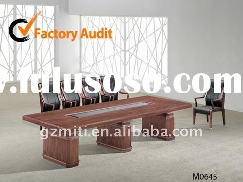 Modern office meeting conference table