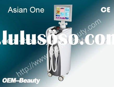 OEM CE approved 808nm Diode Laser+IPL 2 in 1 beauty machine for hair removal and skin rejuvenation