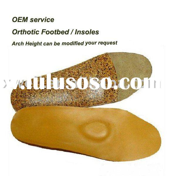 Orthopedic Cork Insoles