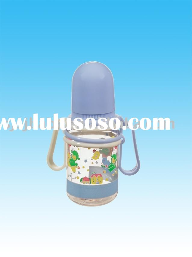 PC baby feeding bottle round