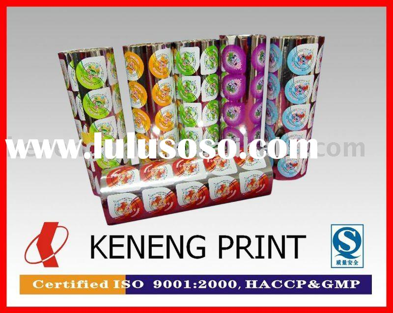 PP or PS Plastic Tray and Cup Sealing Film