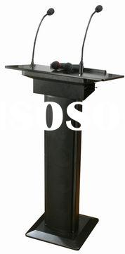 Podium, lectern, portable pa system, wireless pa system, portable amplifier