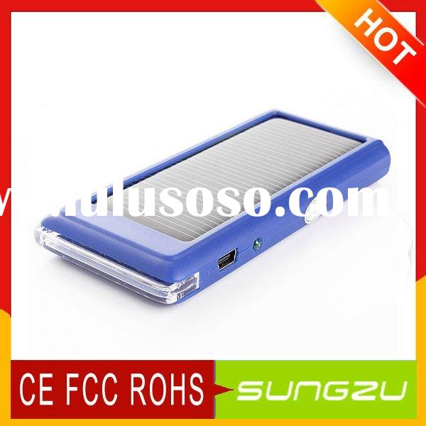Wholesale Mobile Phone Solar Charger from Shenzhen Factory