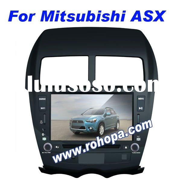 car navigation for mitsubishi asx car dvd gps with 8-disc memory/RDS/mp5/rockford/canbus