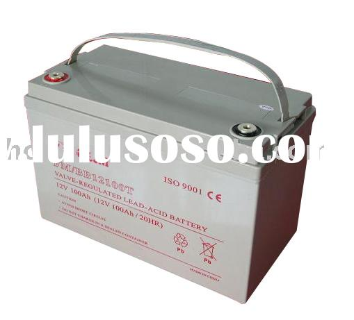 dry type deep cycle battery 12V/100AHT(copper terminal)