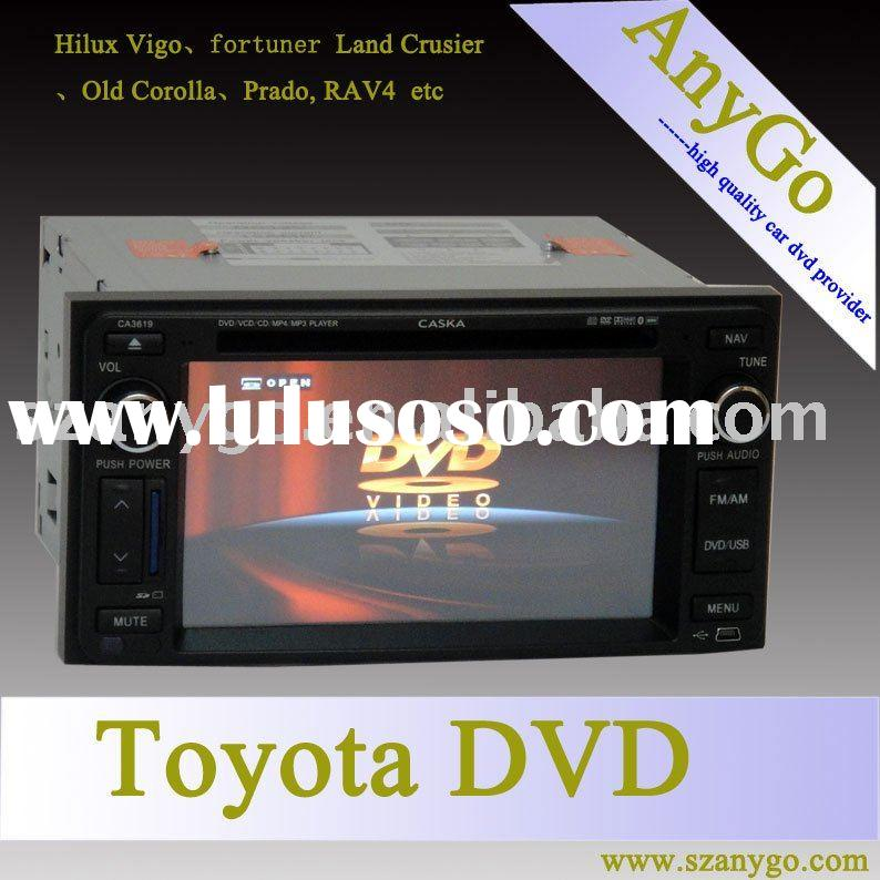newest CASKA toyota hilux car dvd gps navigation system navigation buletooth