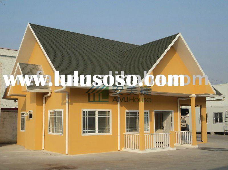 prefabricated house amj house 2011 prefabricated house prefab hosue ...