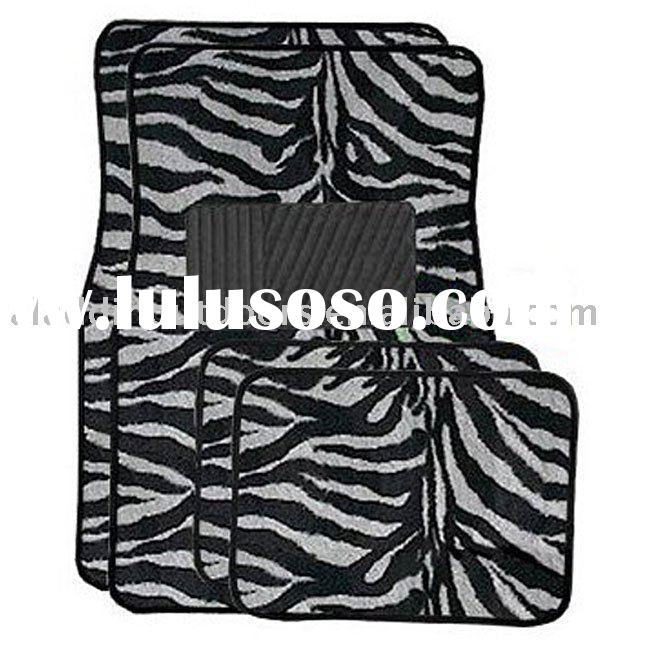 zebra car mats car accessories zebra auto carpets