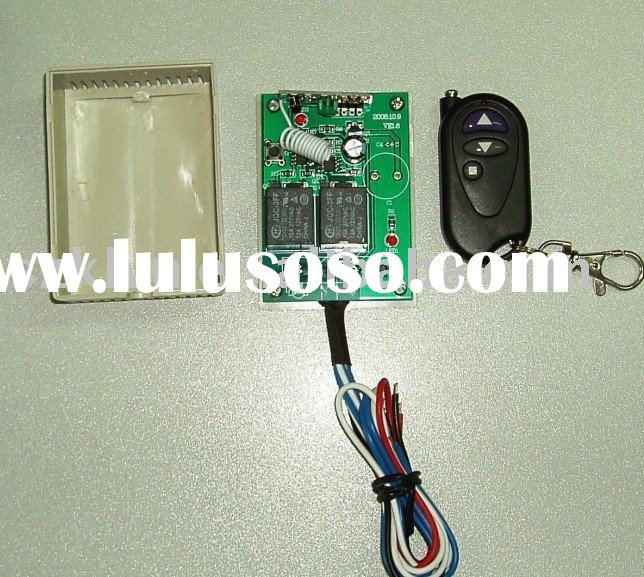 12V 2-channel wireless remote control switch for motor forward and reverse