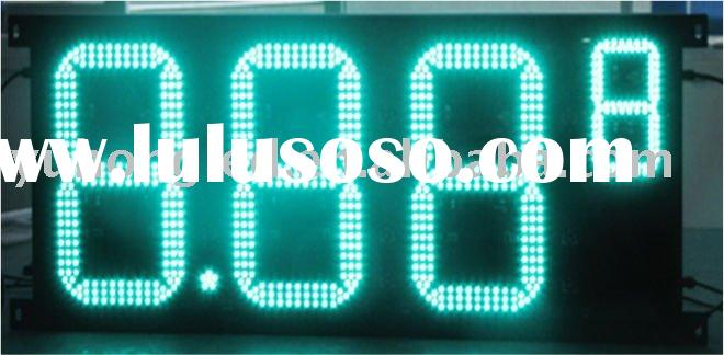 "16"" 8.889 Green LED Oil Price Display for Gas Station"