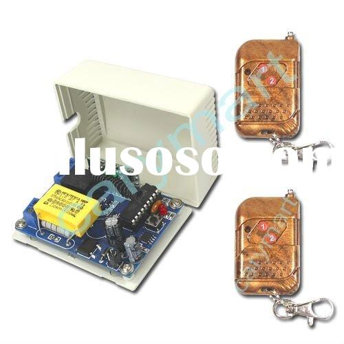 1 CH AC110~240V Open Gate Door Light Wireless RF Remote Control Switch/ Transmitter & Receiver