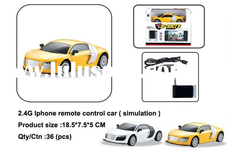 2012 New & hot! Iphone remote control car 2.4G(simulation)