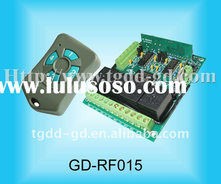 4 Channel Controller, RF Remote Control Board for Garage Door Opener,Circuit Board