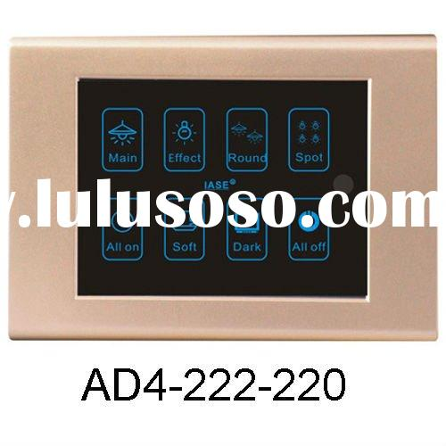 4 inch Touch Screen Light Dimmer Remote Control Switch