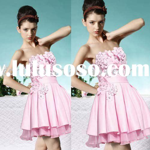 56008 Pretty Fashionable Designer girls' dresses and party wear 2009