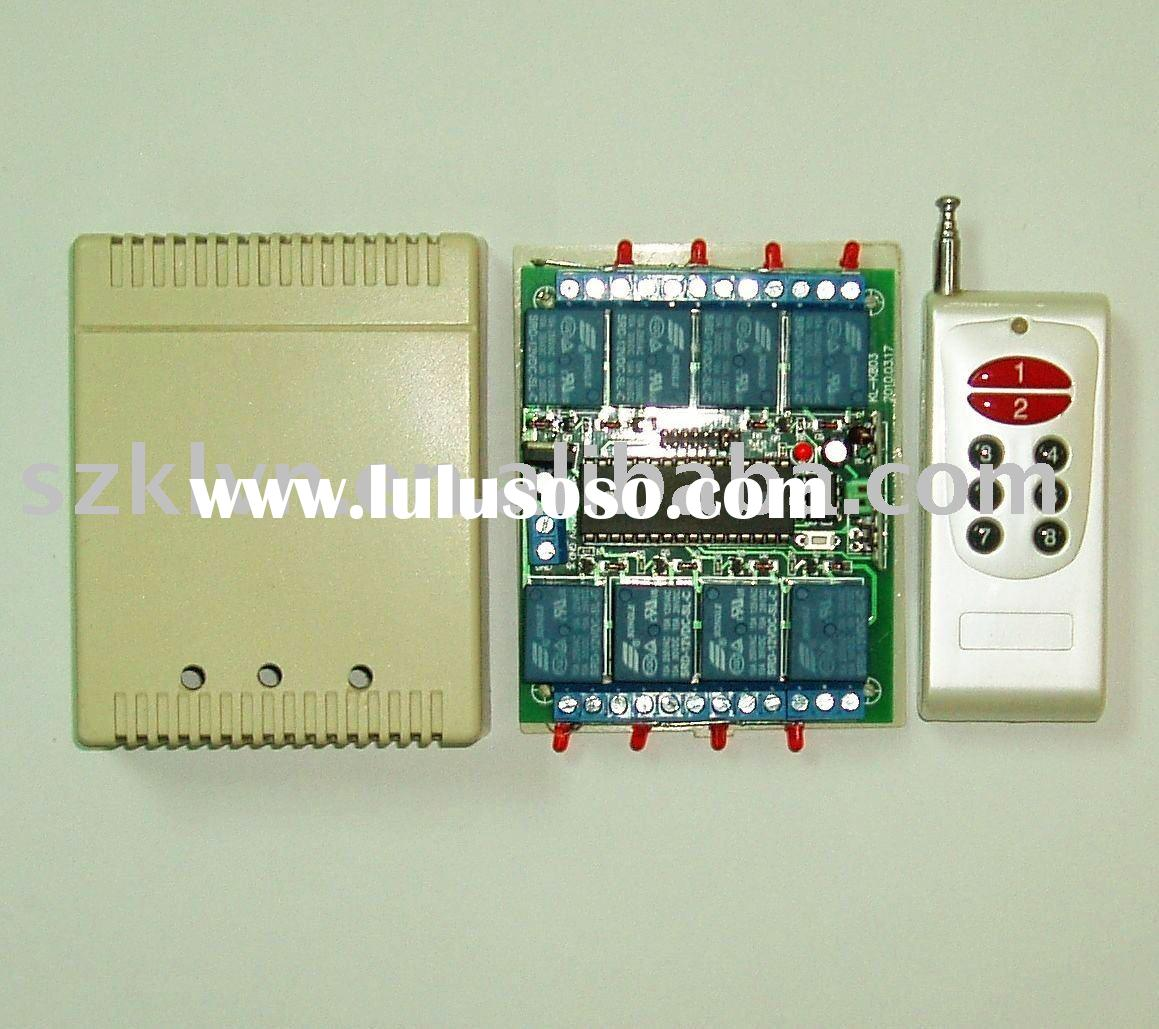 8-Channel wireless remote control switch
