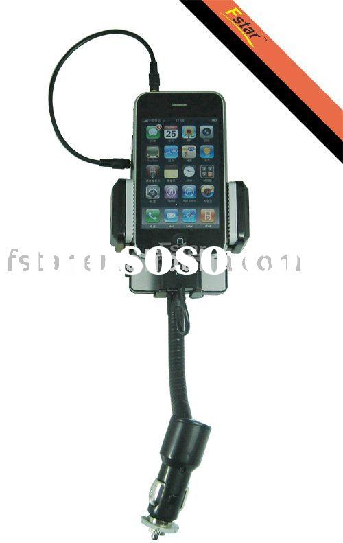 Accessories for Iphone FS01 3 function in 1(Fm transmitter/Car charger/Handfree)