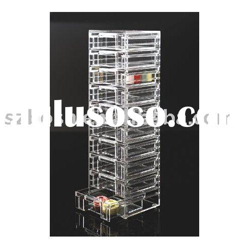 Acrylic Storage Box,Acrylic Drawer Tower,Acrylic Drawer Organizer