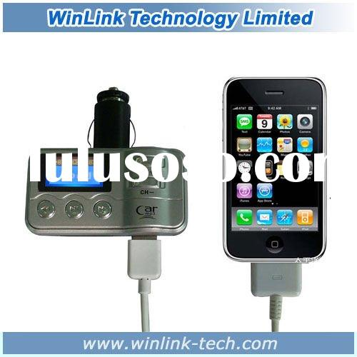 Bluetooth car + MP3 with ipod iphone/4G 3G + steering wheel RF remote control