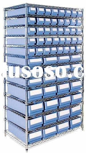 Chrome Bins Shelving