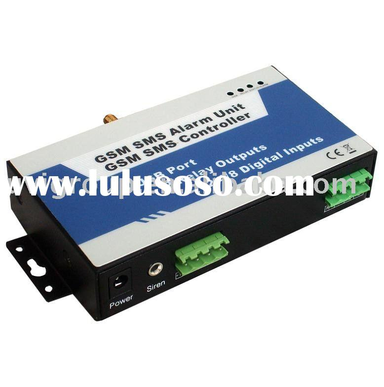 GSM-based SMS universal Remote control for Air conditioner and AC controlled by SMS( 2 Input / 2 Out
