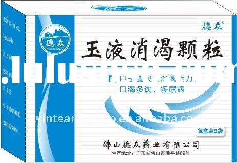 Herbal Medicine of Yuye Xiaoke Granules, for diabetes due to deficiency of both qi and yin