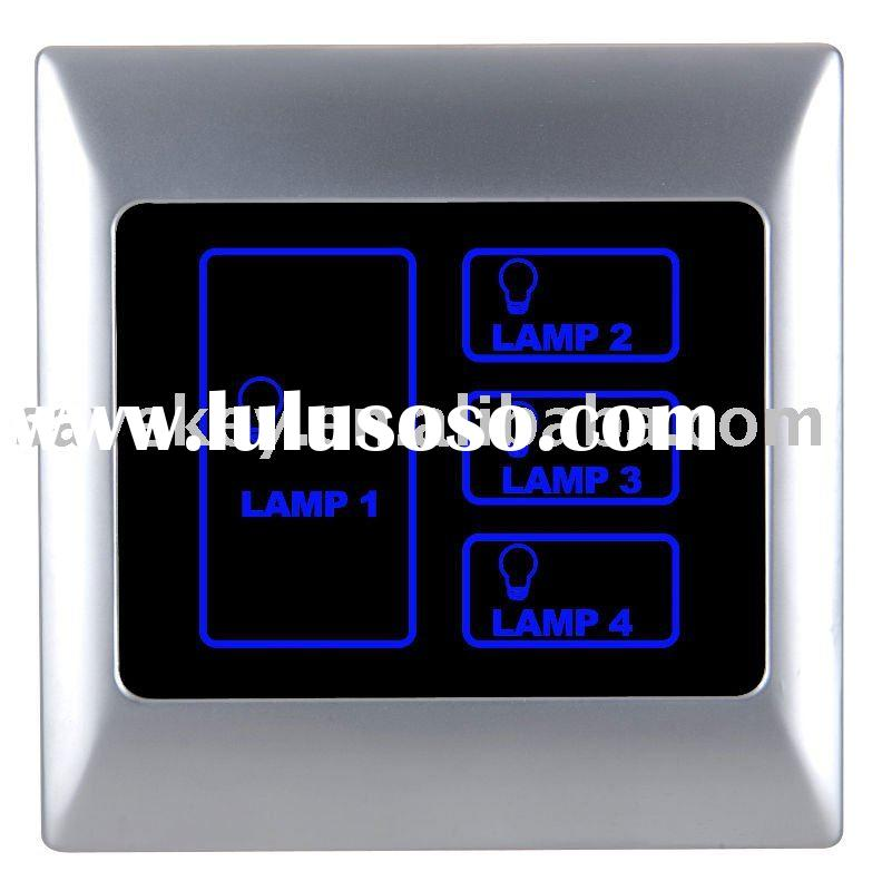 Hotel Intelligent network Lighting Control Touch Panel /infrared remote control switch/ home automat