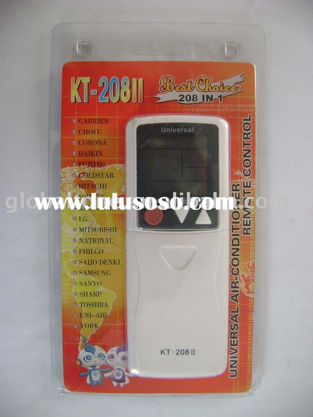 KT-208II 208 codes in 1 Air conditioner remote