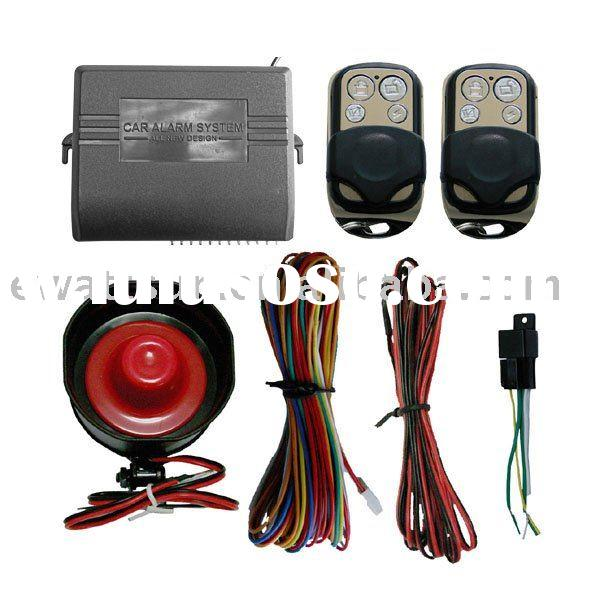 One Way Car Alarm System with High Quality and Cheap Price