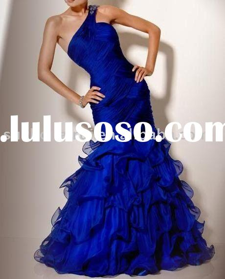 One-shoulder party Dresses 2011 New Style