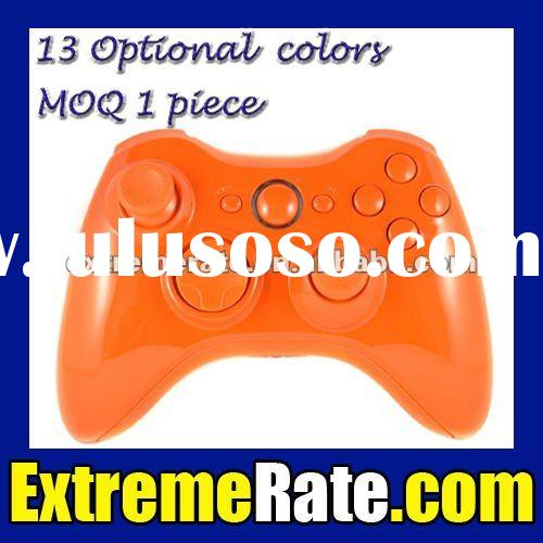 Painted Orange Repair Parts Shell For Xbox 360 Controller Housing Complete Kit with Full Orange Inse