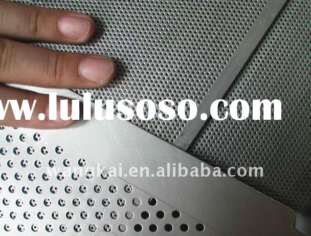 Perforated Stainless steel Metal Sheet