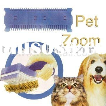 Petzoom Self-cleaning Cats & Dogs Comb Pet Hair Trimmer Slicker Brush,Pet Grooming Products