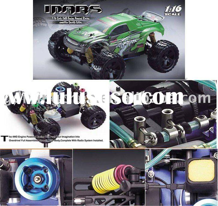 Remote control nitro gas power car
