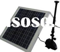 Solar water pump system for fishpond,garden fountain,treegarden irrigation