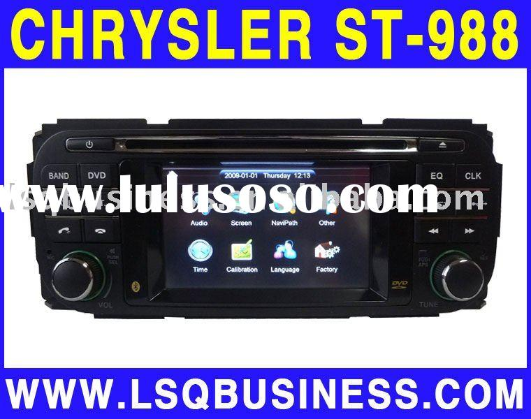 Special Chrysler Grand Cherokee car DVD player with GPS, canbus, bluetooth bluetooth,TV, IPOD suppor