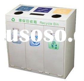 Stainless Steel Recycle Waste Bin