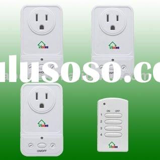 UL Wall Outlet Socket with wireless remote control , RF