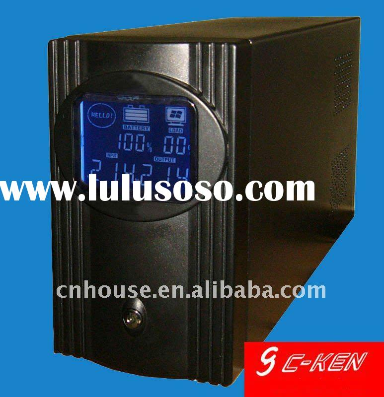 Uninterrupted power supply (UPS offline), LCD display