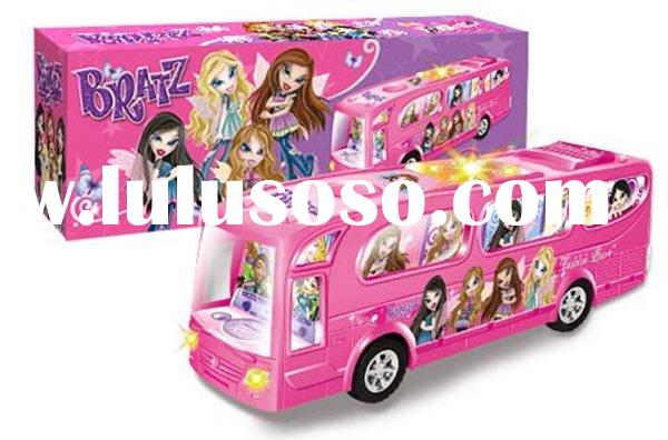 Universal music electric lights shade BRATZ bus rolling