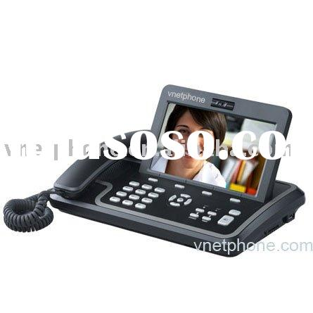 Voip IP Media Phone or video phone with Qwerty keyboard