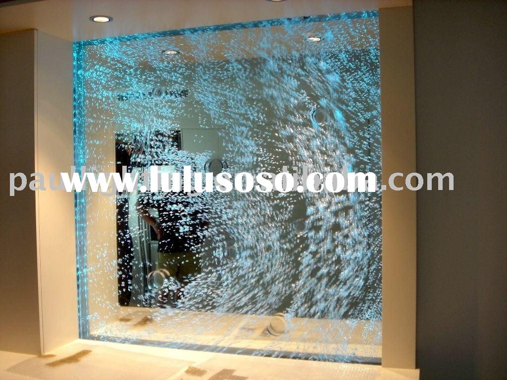 Water bubble wall. Bubble panel. indoor water panel. room divider