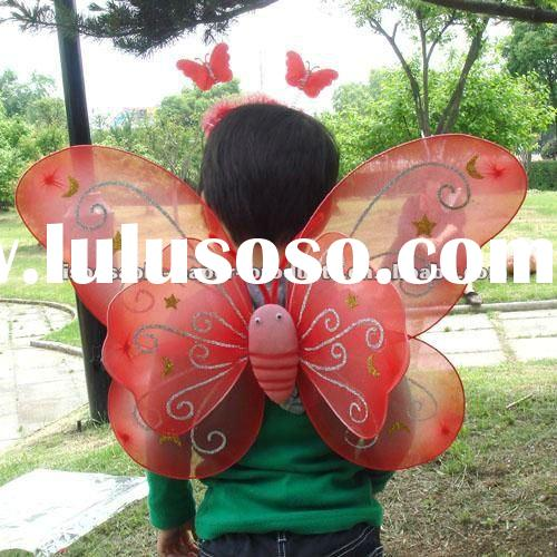 Wholesale Fancy Dress Party Costume Fairy Costume Sets Butterfly Girls Fairy Halloween Costume Wings
