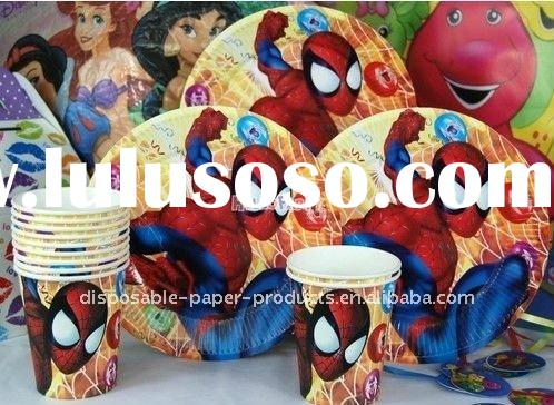 Wholesale Spiderman Party Supplies