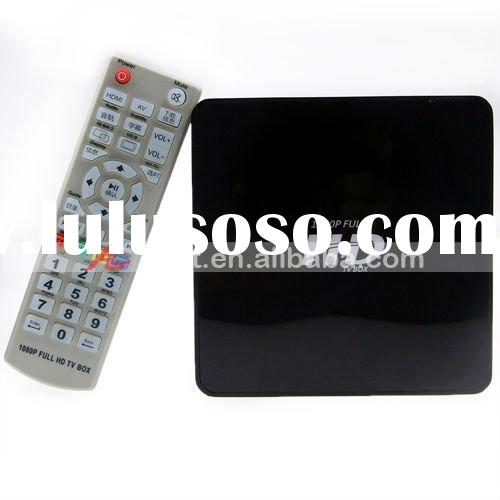 "X8 1080P Full HD 2.5"" SATA HDD Multimedia Player with HDMI/SDHC/2-USB Host/YPbPr/Optical/RJ45"