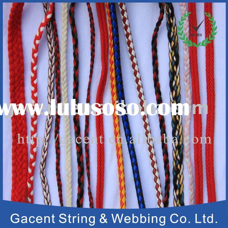 Color Cotton Rope Cotton Braided Rope And Cord