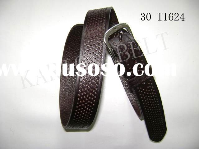 genuine leather belt /jeans belt/soft leather belt for men