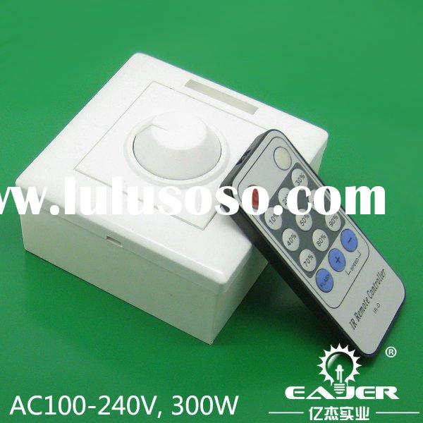 hot sale 220v dimmer remote controlled dimmer switch triac lamp dimmer 100-240VAC
