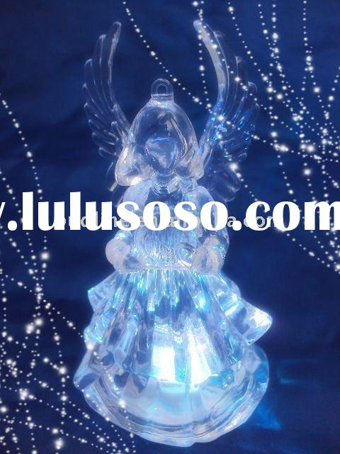 led Angel , led light angel, acrylic angel in gifts&crafts