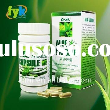 lose weight herbal extract Aloe Capsule